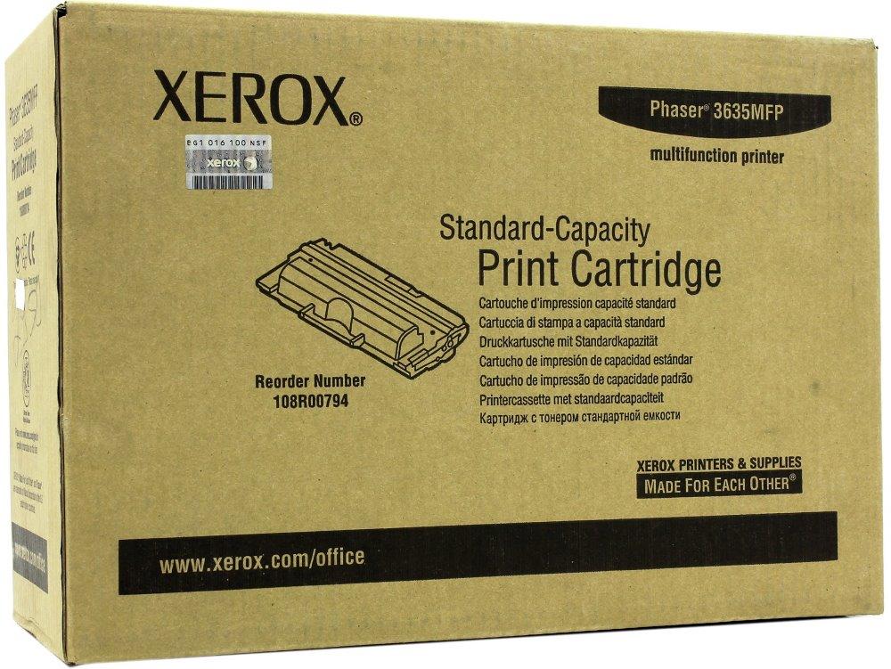 Toner XEROX černý pro Phaser 3635MFP 5.000 str. 108R00794