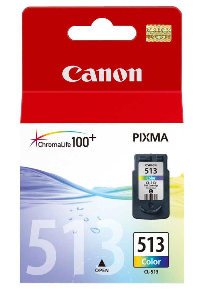 Cartridge inkoustová náplň Canon CL-513, barevná 2971B001
