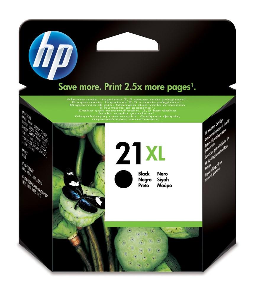 Cartridge inkoustová náplň HP 21XL HP C9351CE - ink. černá, DJ 3920, 3940 C9351CE