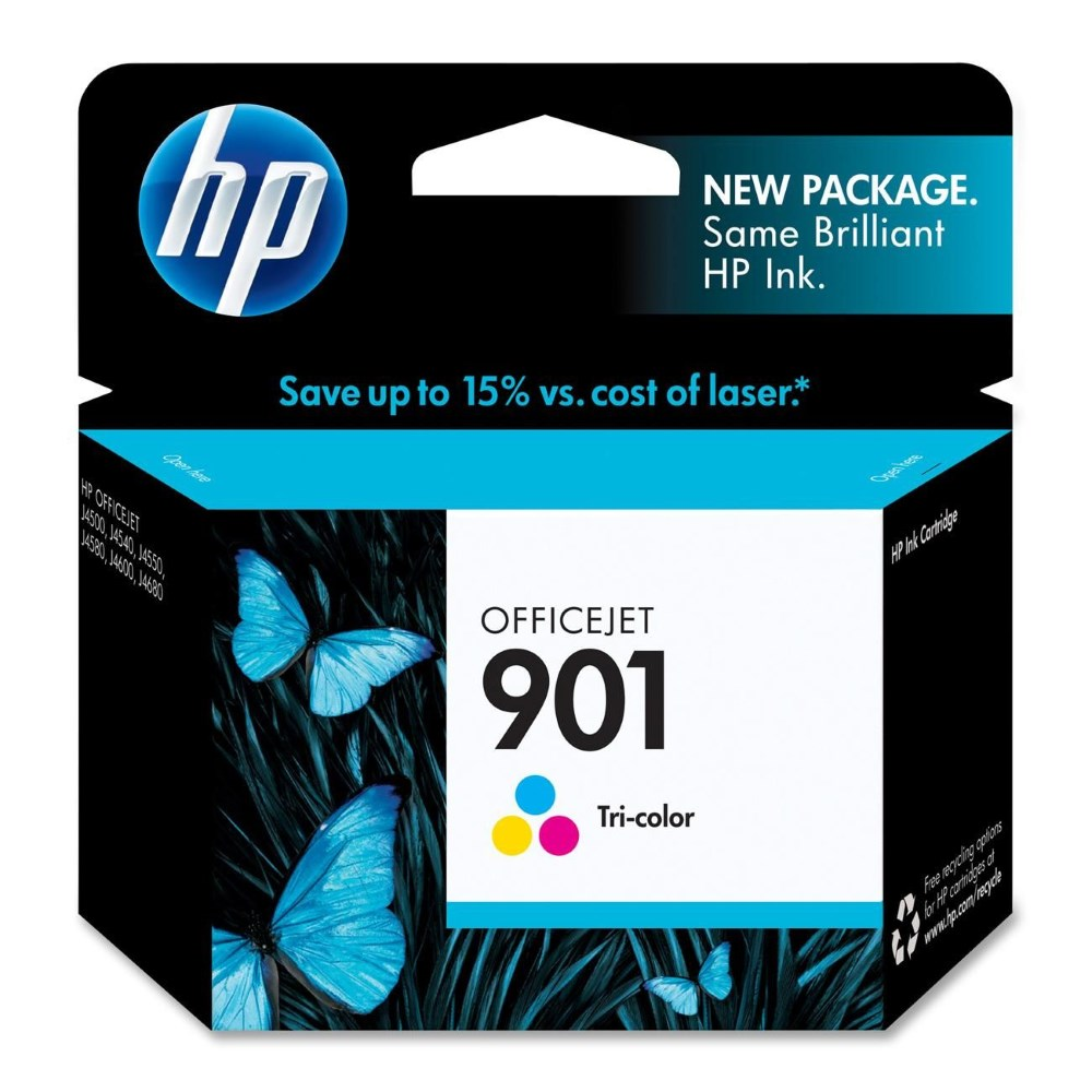 Cartridge inkoustová náplň HP 901 HP kazeta barevná CC656AE CC656AE