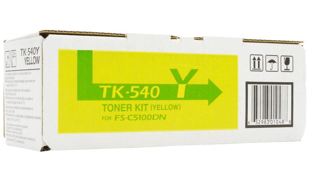 Kyocera toner TK-540Y/ FS-C5100DN/ 4000 stran / Žlutý