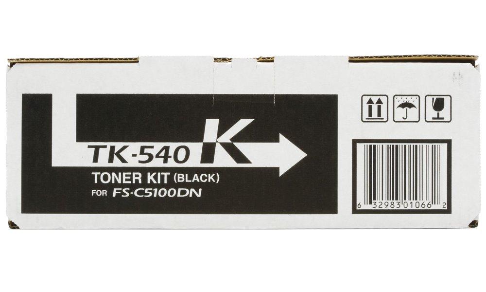 Toner Kyocera TK-540K černý Toner, originální, pro Kyocera FS-C5100DN, 5 000 stran, černý