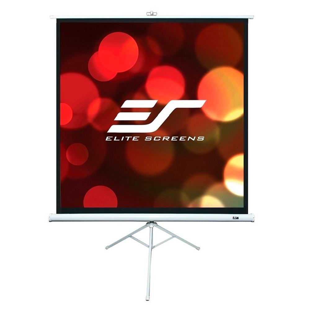 Projekční plátno ELITE SCREENS T113NWS1 113 Projekční plátno, mobilní, trojnožka, 113, 1:1, 203,2 x 203,2 cm, stativ, Gain 1,1, case bílý T113NWS1