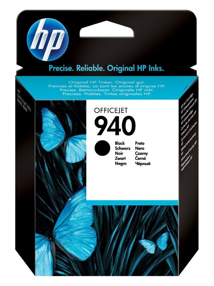 Inkoustová náplň HP 940 C4902AEčerná Inkoustová náplň, originální, pro HP Officejet Pro 8500, 8500 Wireless, Pro 8000, Pro 8000 Wireless, černá C4902AE