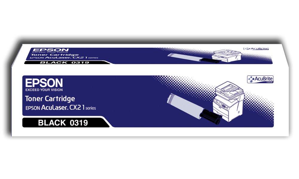 Toner Epson pro CX21N, 4500 stran, Černá C13S050319