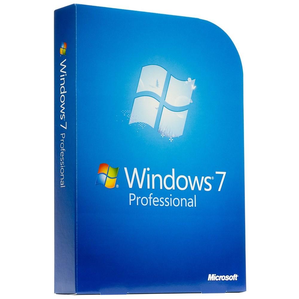 Operační systém MS Windows 7 Professional Operační systém, 64bit, anglický, OEM FQC-08289