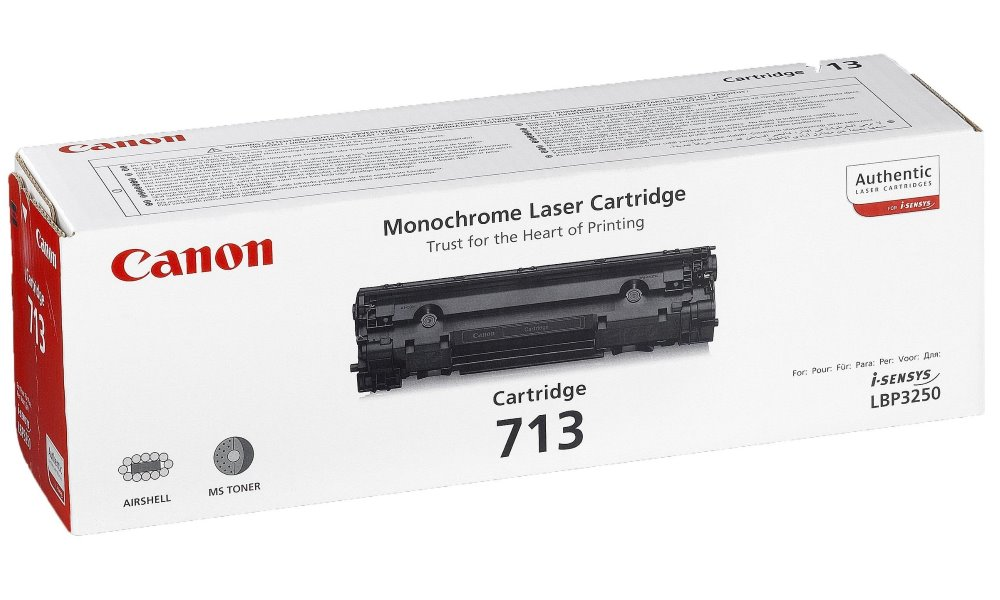 Toner Canon CRG-713 pro LBP-3200, 2000 stran, Černý 1871B002