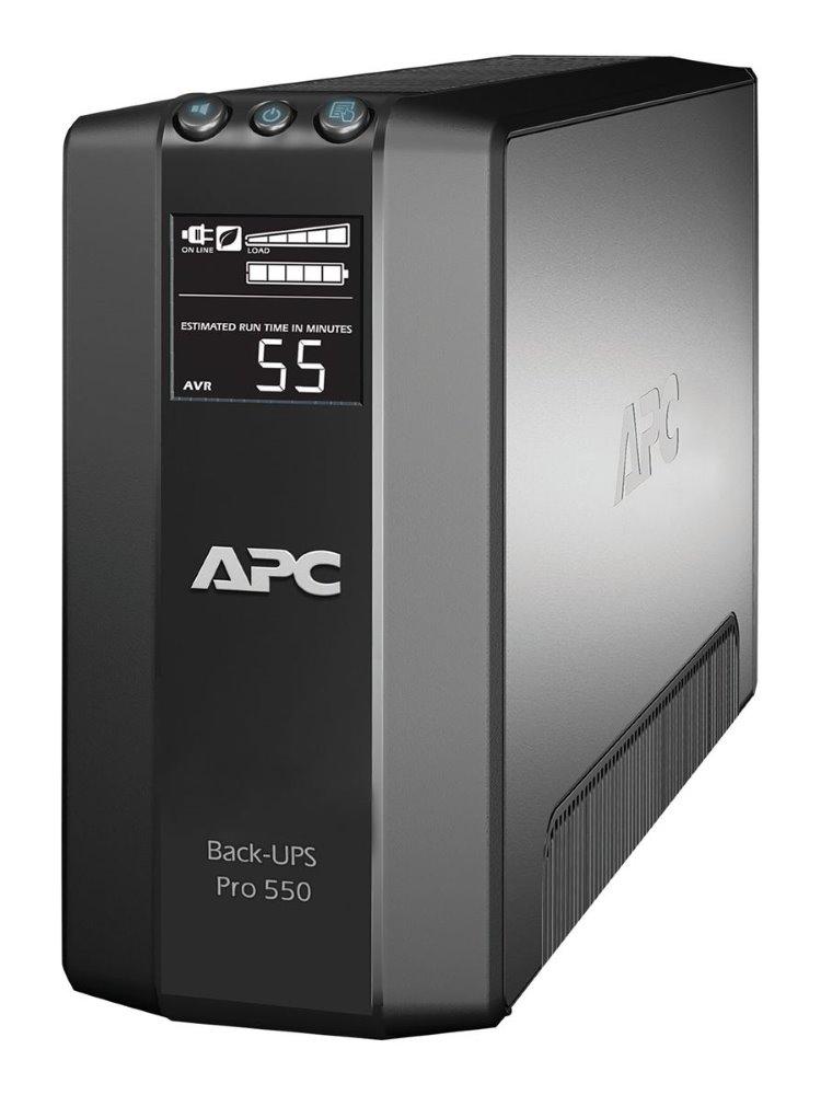 Záložní zdroj UPS APC Power Saving Back Pro 550 Záložní zdroj UPS, 330 W, 230 V, LCD BR550GI