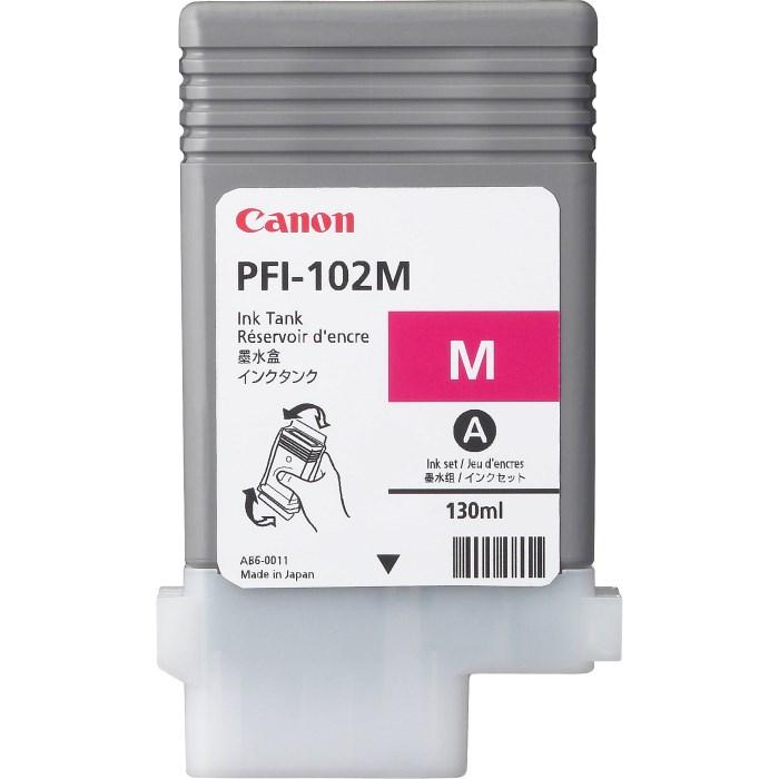 Canon  Zásobník inkoustu PFI-102M/ iPF-500/ 6x0/ 7xx/ LP-xxx/ Magenta