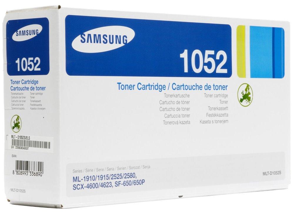 Toner Samsung MLT-D1052S černý Toner, pro Samsung ML-1910, 1915, 2525, 2580N, SCX-4600, 4623, 1500 stran, černý