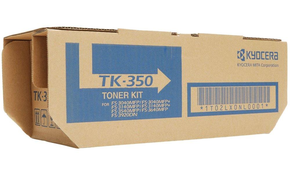 Toner Kyocera TK-350 , FS-3920DN, FS-3040MFP, FS-3140MFP, 15 000 stran, Černý TK-350B