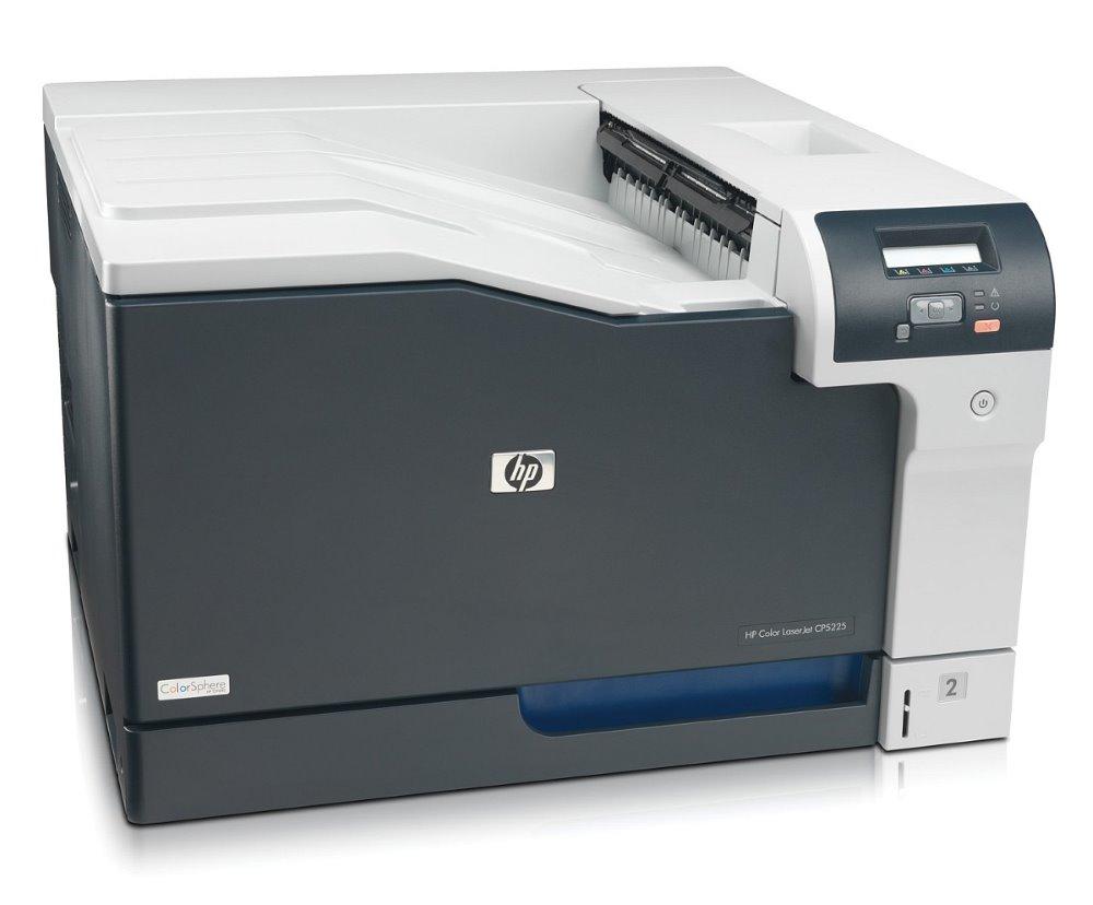 Laserová tiskárna HP Color LJ Pro CP5225dn Barevná laserová tiskárna, A3, 20ppm, 600x600dpi, Duplex, LCD displej, USB, LAN, Wi-Fi, Černo-bílá CE712A
