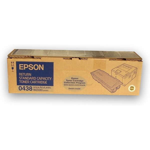 Toner Epson AcuLaser C13S050438 černý Toner pro Epson M2000, M2000D, 3500 stran, černý C13S050438