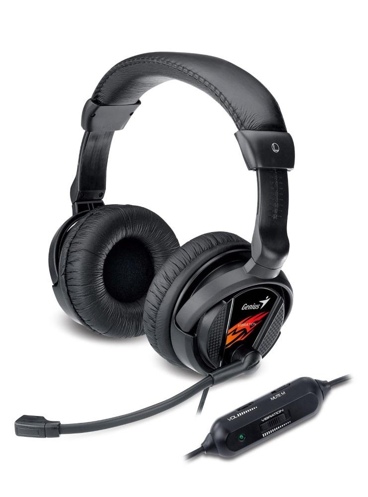 Headset Genius HS-G500V Gaming Headset, herní, s vibracemi 31710020101