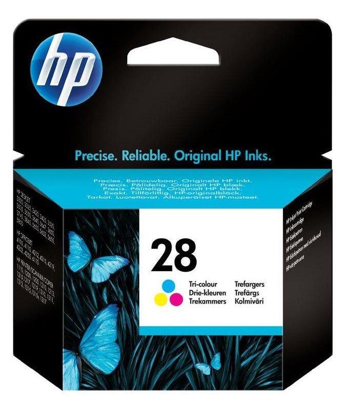 Cartridge inkoustová náplň HP 28 HP C8728A - ink. barevná, DJ 3420,3745 C8728AE