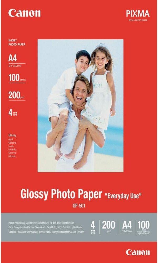 Fotopapír Canon Everyday Use Glossy GP-501 A4 Fotopapír, A4, lesklý, 210g, 100ks 0775B001
