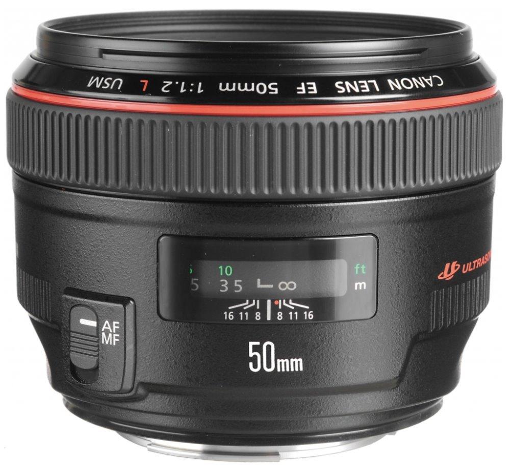 Objektiv Canon EF 50 mm f/1,2 L USM Objektiv, EF, 50 mm, f/1,2 L, USM 1257B007AA