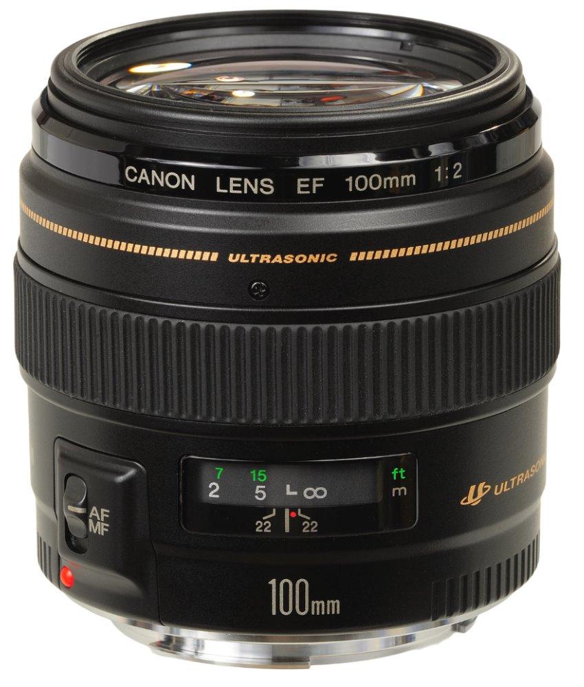 Objektiv Canon EF 100 mm f/2 USM Objektiv, EF, 100 mm, f/2, USM 2518A019AA