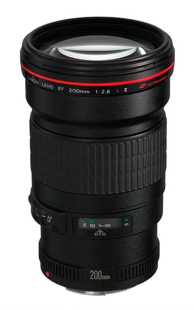 Objektiv Canon EF 200 mm f/2,8 L II USM Objektiv, EF, 200 mm, f/2,8 L II, USM, set 2529A019AA