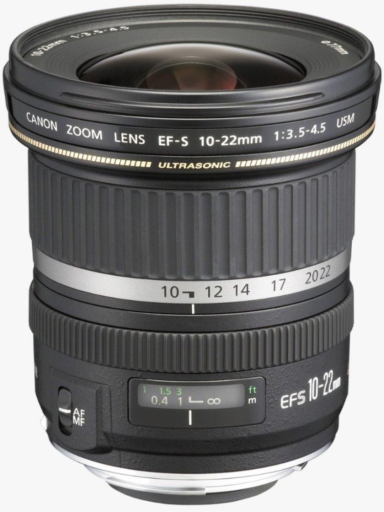 Objektiv Canon EF-S 10 - 22 mm f/3,5-4,5 USM Objektiv, EF-S, 10 - 22 mm, f/3,5-4,5, USM, zoom, vhodné pro focení krajiny 9518A030AA