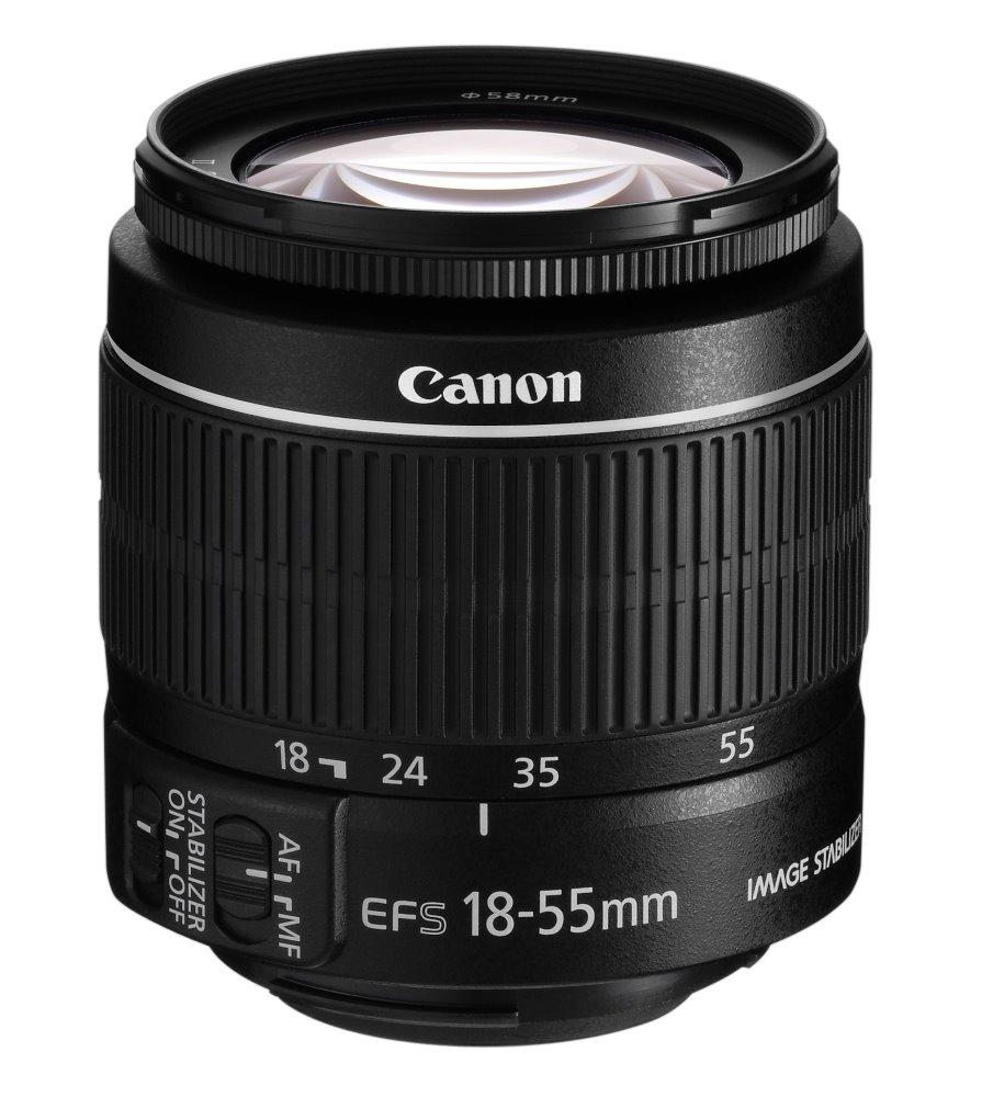 Objektiv Canon EF-S 18 - 55 mm f/3,5-5,6 IS II Objektiv, EF-S, 18 - 55 mm, f/3,5-5,6, IS, II 5121B005AA
