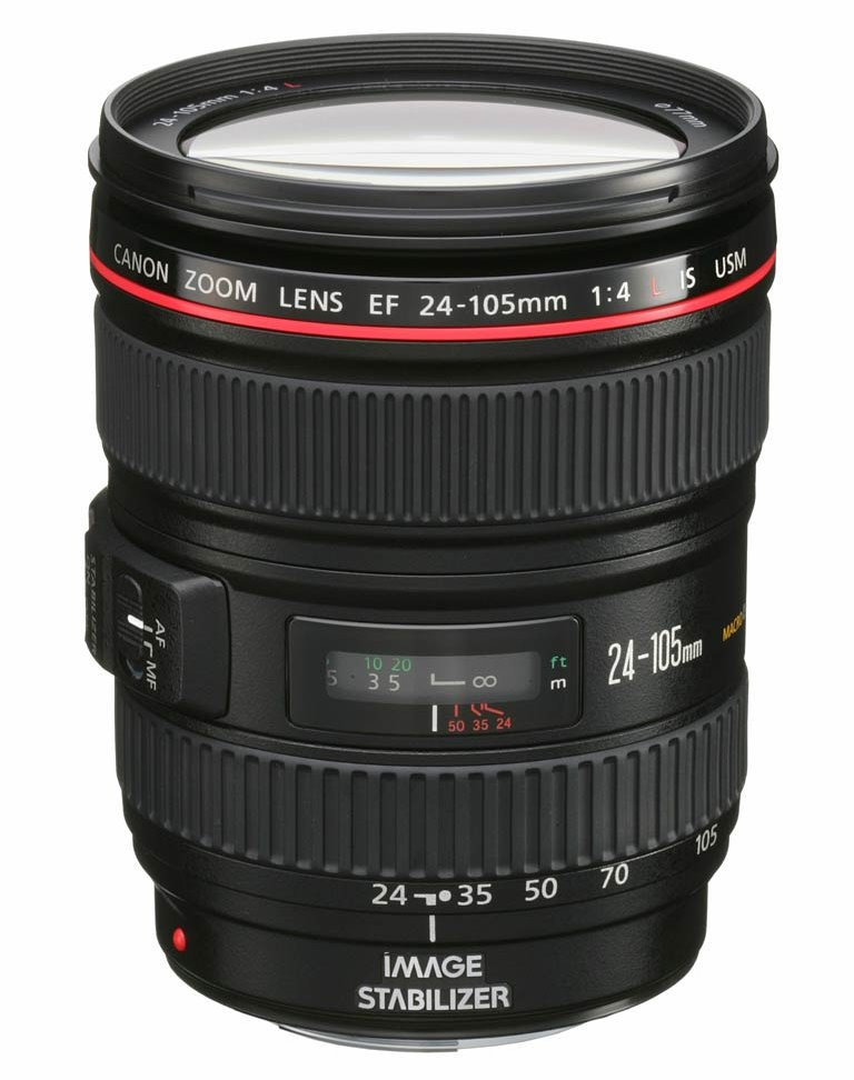 Objektiv Canon EF 24 - 105 mm f/4 L IS USM Objektiv, EF, 24 - 105 mm, f/4 L, IS, USM 0344B010AA