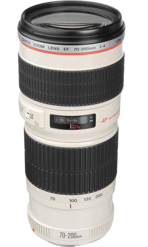 Objektiv Canon EF 70 - 200 mm f/4 L IS USM Objektiv, EF, 70 - 200 mm, f/4 L, IS, USM, zoom 1258B009AA