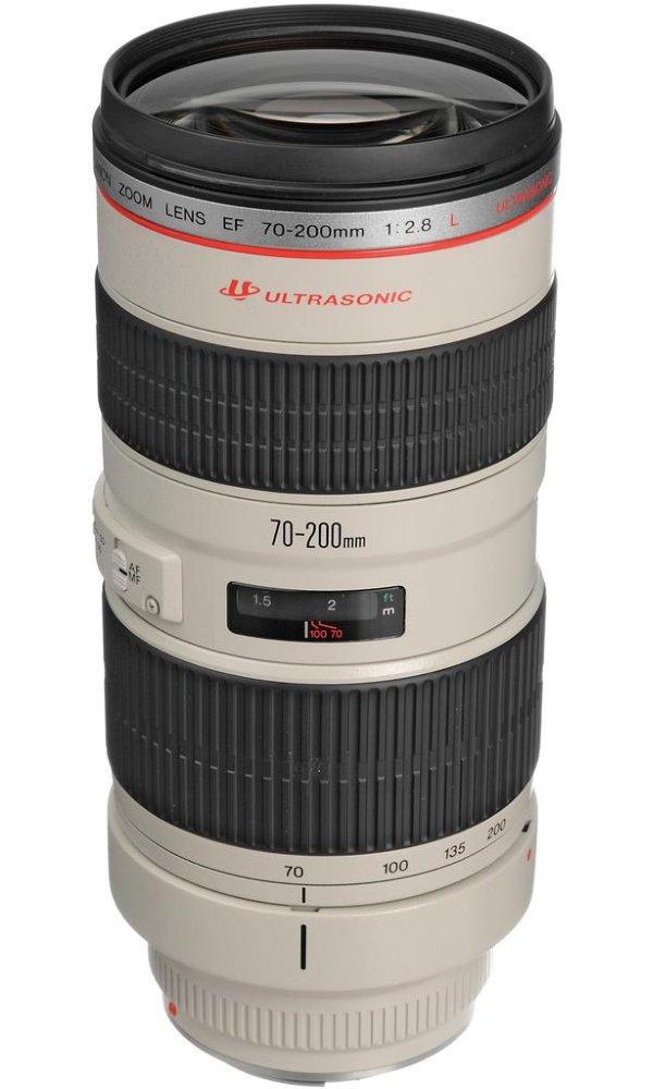 Objektiv Canon EF 70 - 200 mm f/2,8 L USM Objektiv, EF, 70 - 200 mm, f/2,8 L, USM, zoom 2569A022AA