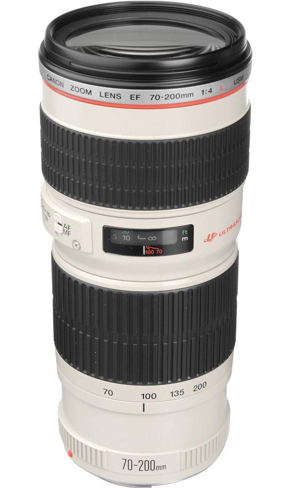 Objektiv Canon EF 70 - 200 mm f/4 L USM Objektiv, EF, 70 - 200 mm, f/4 L, USM,zoom 2578A013AA