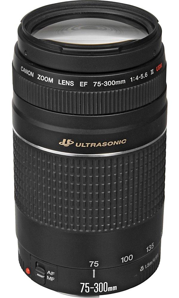 Objektiv Canon EF 75 - 300 mm f/4-5,6 III Objektiv, EF, 75 - 300 mm, f/4-5,6, III, zoom 6473A023AA
