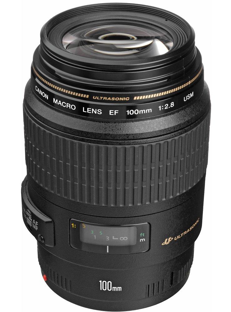 Objektiv Canon EF 100 mm f/2,8 makro USM Objektiv, EF, 100 mm, f/2,8, makro, USM 4657A018AA