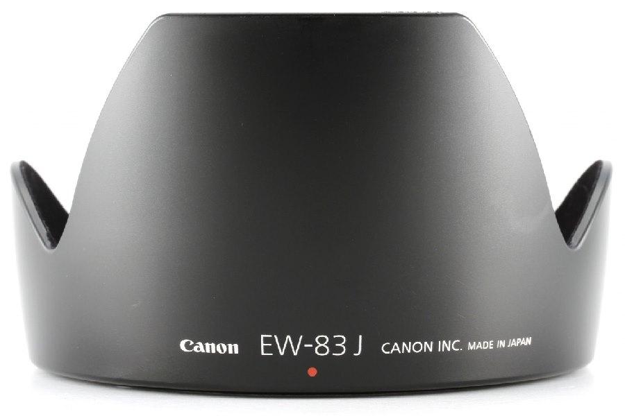Sluneční clona Canon EW-83J Sluneční clona pro objektiv Canon EF-S 17-55/2,8 IS USM 1244B001AA