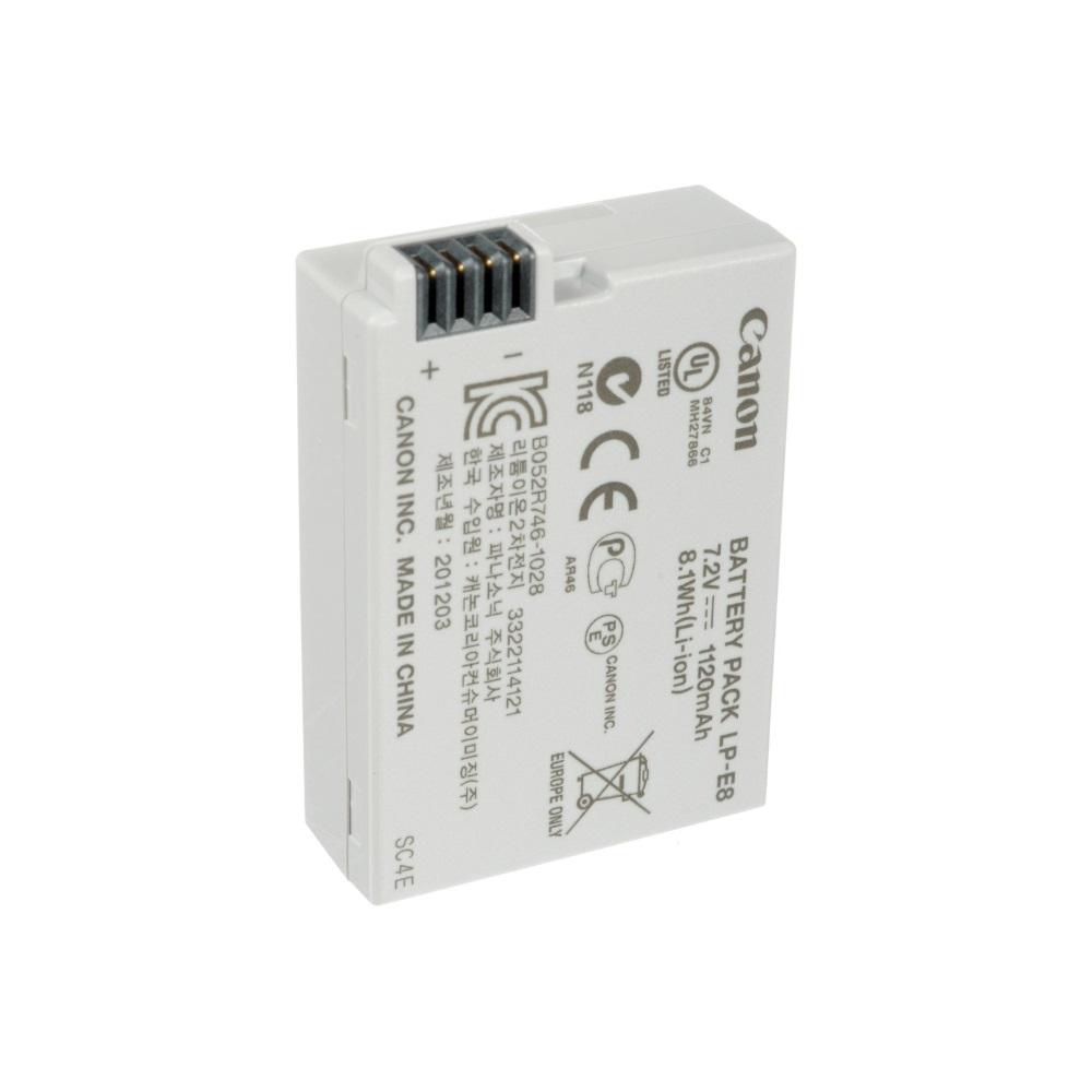 Baterie Canon LP-E8 Baterie, pro fotoaparát, 1120mAh, Li-Ion 4515B002AA