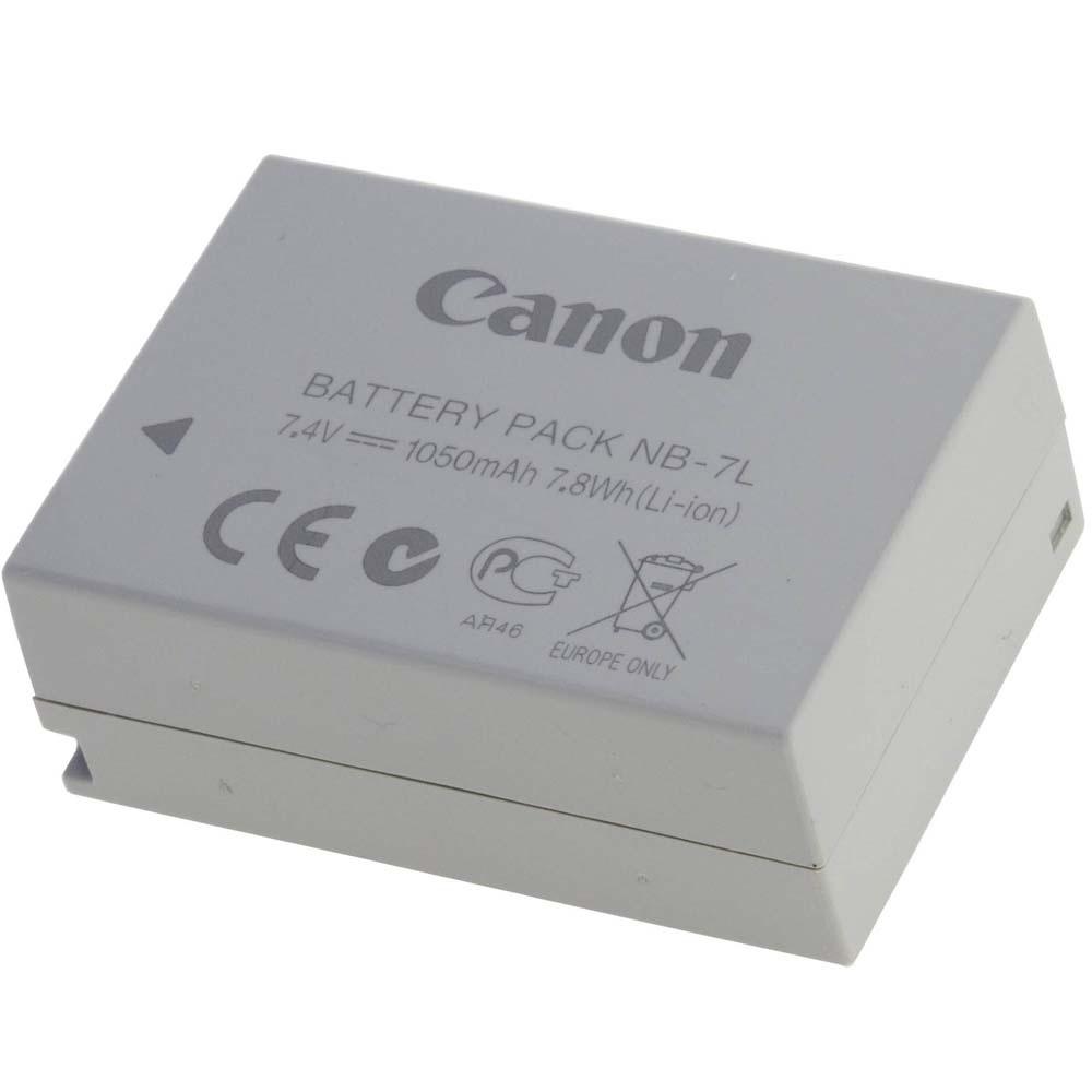 Baterie Canon NB-7L Baterie, pro fotoaparát, 1050mAh, Li-Ion, pro G10, G11, G12, SX30 3153B001AA