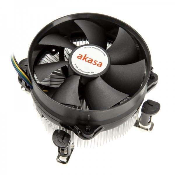 Chladič AKASA AK-CCE-7101CP Chladič, pro Intel 775,1156 ultra tichý AK-CCE-7101CP
