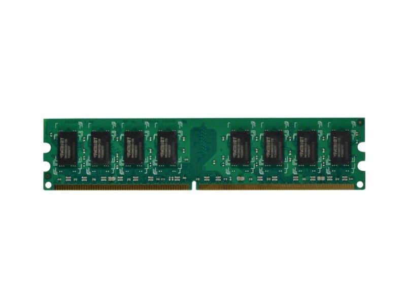 Operační paměť RAM Patriot 4GB 800MHz Operační paměť, DDR2 4GB SL PC2-6400 800MHz CL6 PSD24G8002