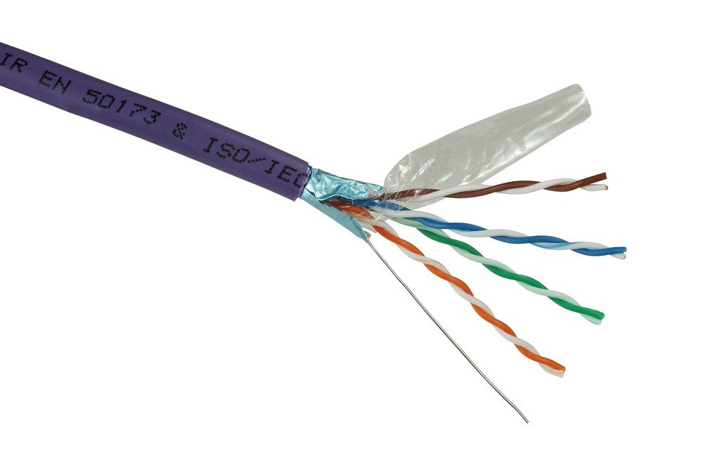 Síťový kabel Solarix FTP cat.5e, 305 m Síťový kabel, CAT5e, 305 m, LSOH, drát 27655147