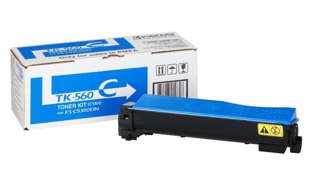 Kyocera toner TK-560C/ FS-C5300/ 5350DN/ 10 000 stran/ Modrý