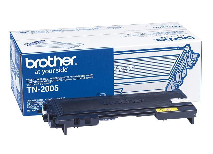 Toner Brother TN-2005 Toner pro HL-2035, 2037, 1500 stránek, černý TN2005