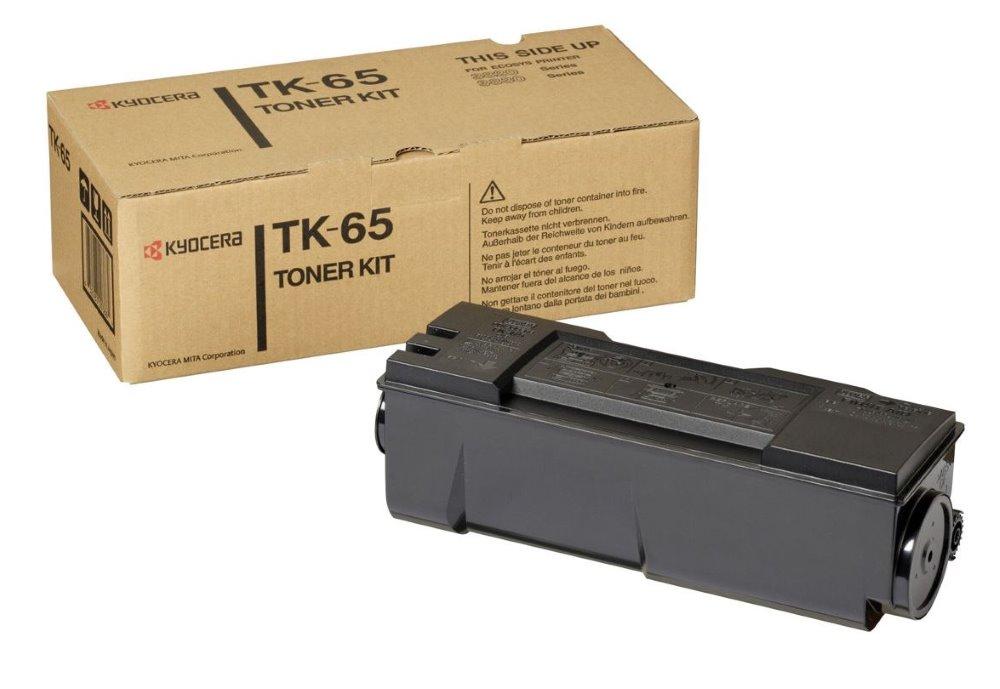 Toner Kyocera TK-65 , FS-3820N, 3830N, 20 000 stran, Černá TK-65