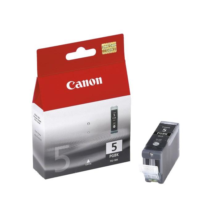 Canon inkoustová náplň PGI-5Bk/ černá / 2ks v balení !!