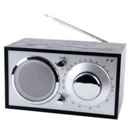 Radiopříjímač KÖNIG  RETRO - ČERNÝ HAV-TR11