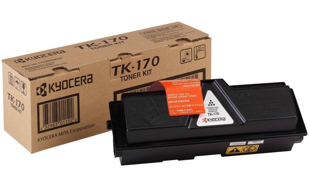 Toner Kyocera TK-170 , FS-1320D, FS-1370DN, 7200stran, Černý TK-170