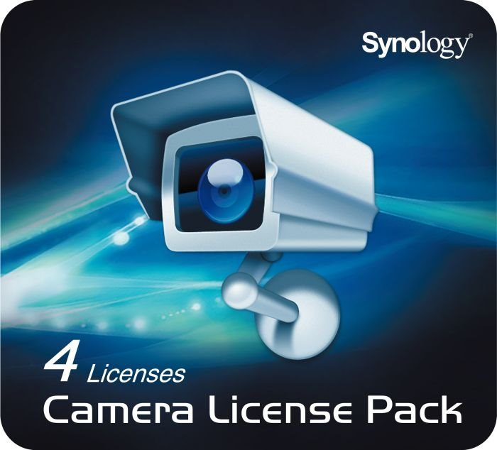 Licence pro kameru Synology IPC4 Licence, Camera License Pack x 4 IPC4