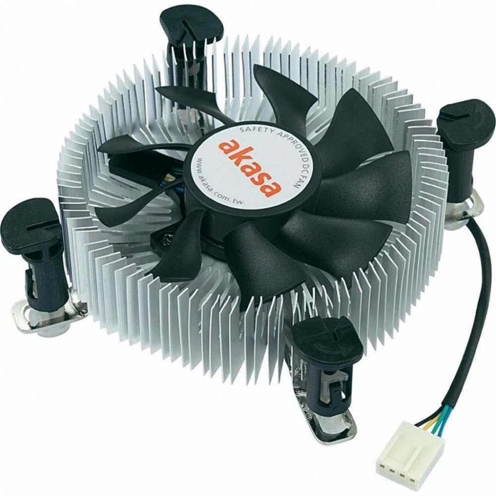 Chladič AKASA AK-CCE-7106HP Chladič, Low Profile, pro Intel 775,1156 pro Mini-ITX, micro-ATX AK-CCE-7106HP