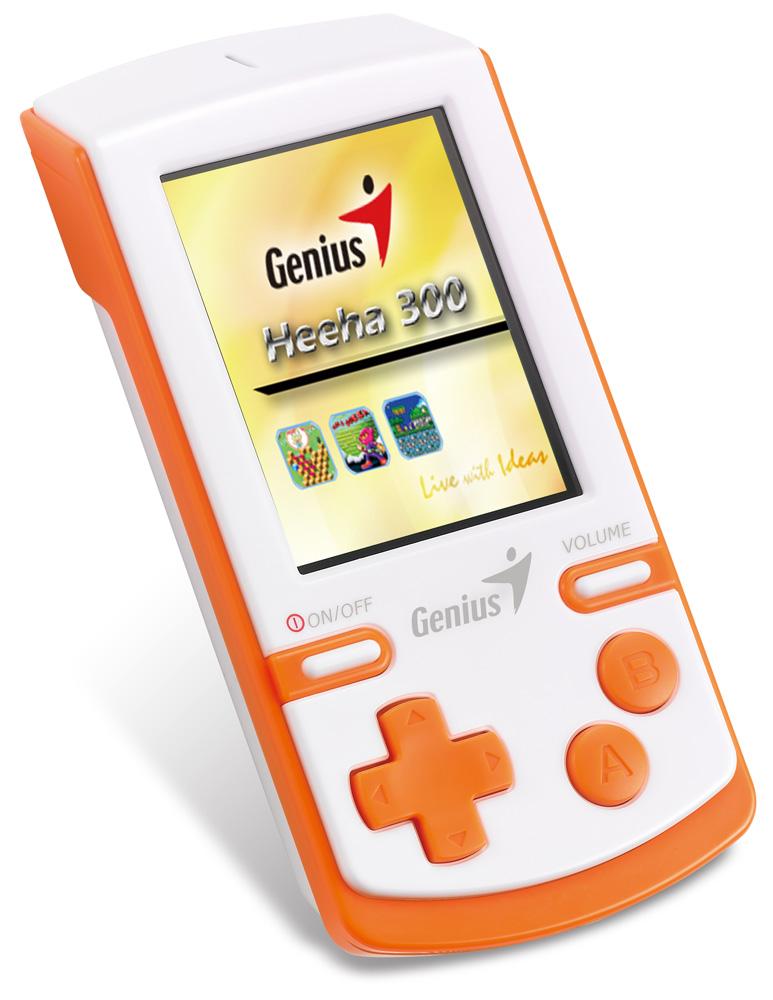 Konzole Genius Heeha 300 Konzole, herní, 30 klasických arkádových her, malá hmotnost, ovládání hlasitosti 31690011100