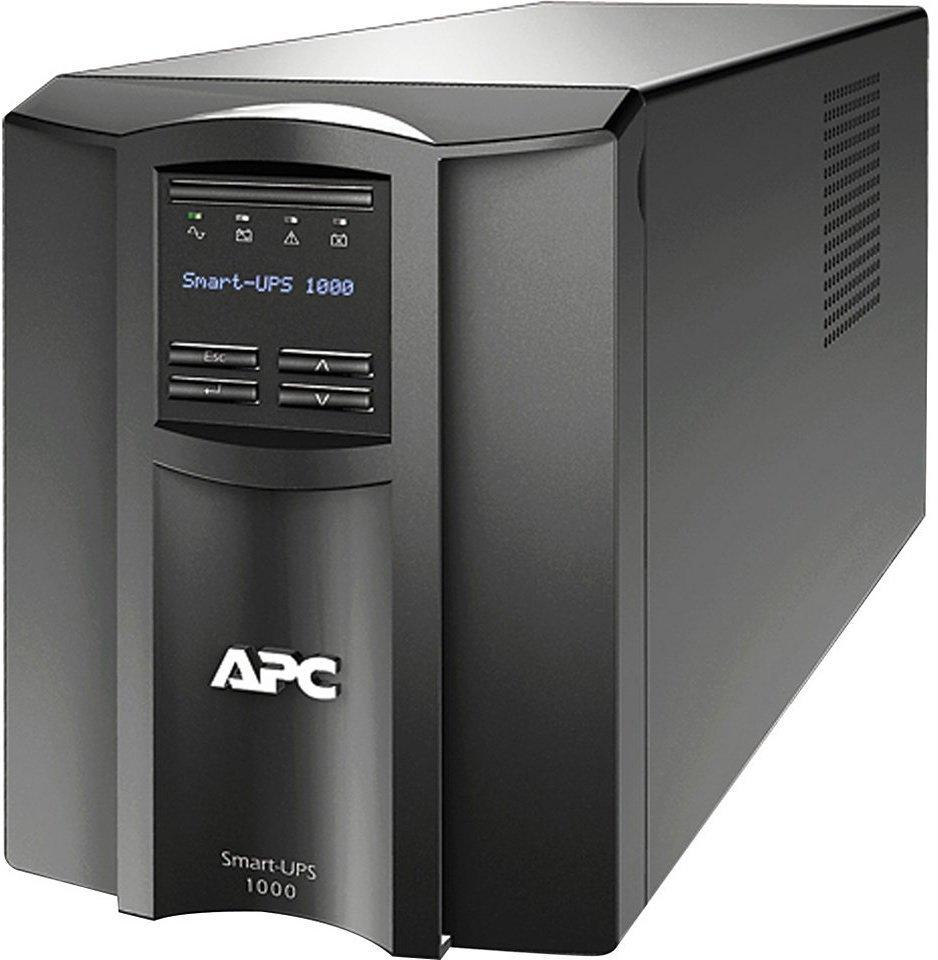 Záložní zdroj UPS APC Smart-UPS 1000VA Záložní zdroj UPS, 670 W, 230 V, LCD SMT1000I
