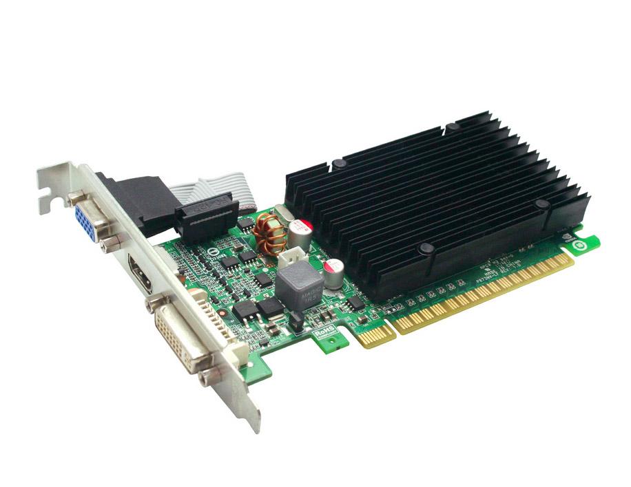Grafická karta EVGA GeForce GT210 1 GB Grafická karta, PCI-E, DDR3, DVI, HDMI, pasivní chlazení 01G-P3-1313-KR