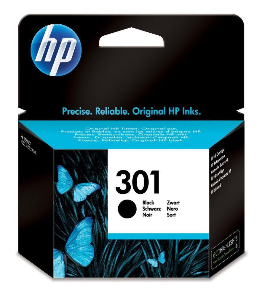 Cartridge inkoustová náplň HP HP 301 CH561EE černá kazeta CH561EE