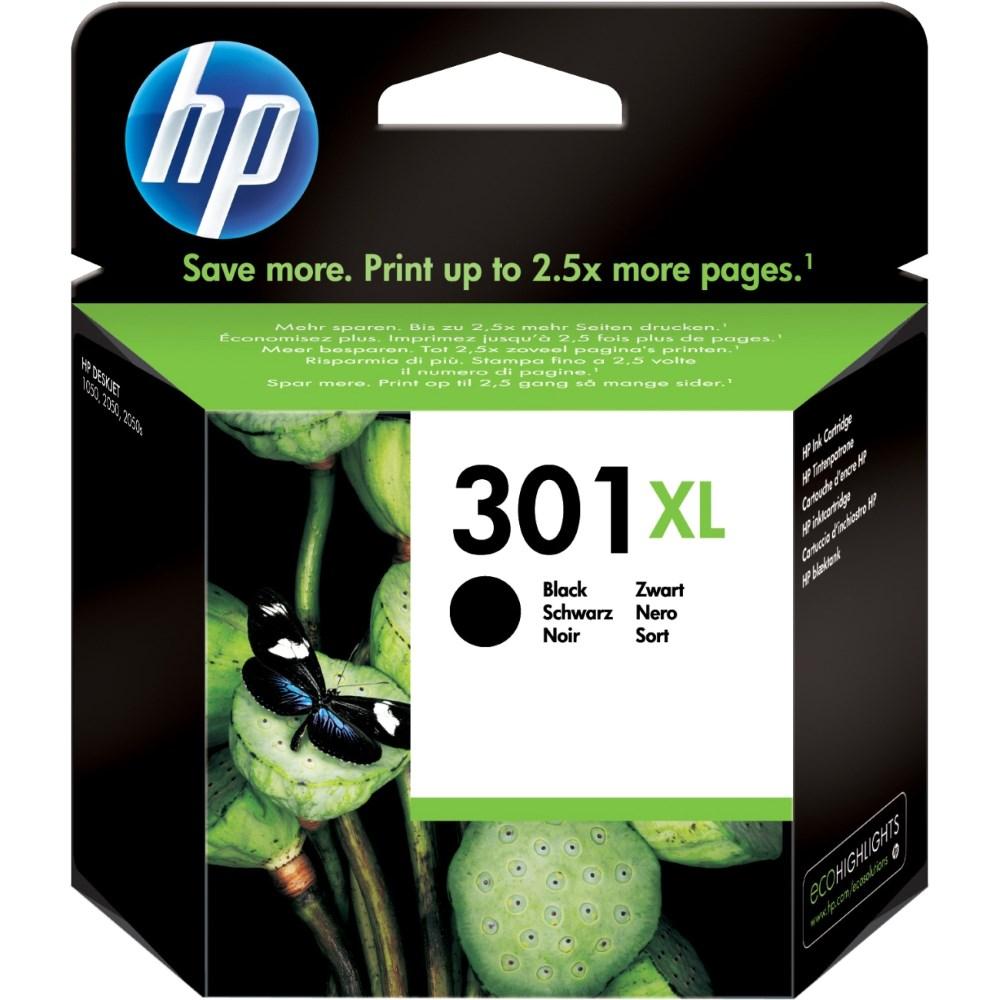 Cartridge inkoustová náplň HP HP 301XL CH563EE černá kazeta CH563EE